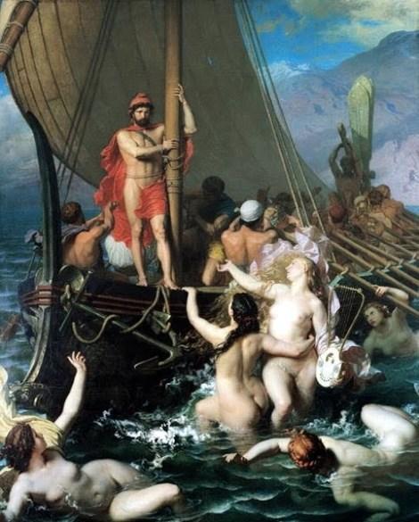 Les Sirènes par Léon Belly